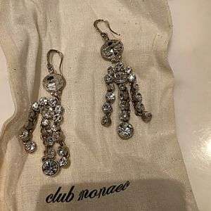Stunning chandelier earrings -lot's of sparkle!